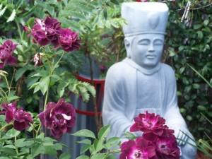 Buddha in a gaden