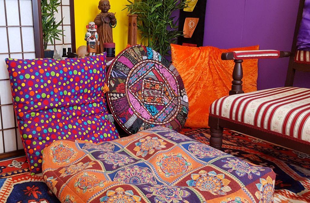 Meditation cushions
