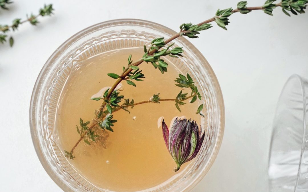 The benefits of thyme tea